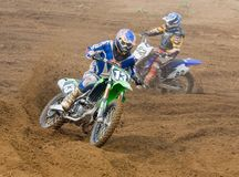 Team IMBA Cup of Nations (motocross) in Vladimir Stock Image