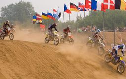 Team IMBA Cup of Nations (motocross) in Vladimir Stock Photos