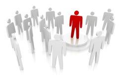 Team individuality concept. Stock Photos