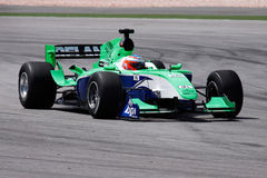 Team Ireland A1 GP car Royalty Free Stock Photos