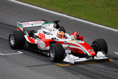 Team Italien A1 GP-Auto am beginnenden Rasterfeld Stockbild