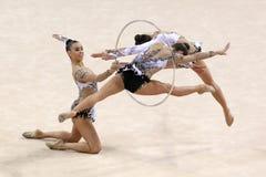 Team Italy Rhythmic Gymnastics stock image