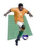 Team Ivory Coast - Cote d'Ivoire. Team Ivory Coast Royalty Free Stock Photography