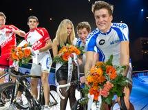 Team Keller Küng celebrates victory Royalty Free Stock Photography