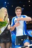Team Keller Küng celebrates victory Royalty Free Stock Photo
