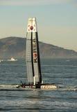 Team-Korea saiboat in Amerikas Cup 2012 Stockfoto