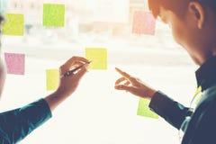 Team kreative Unternehmensplanung und das Denken an Ideen für succes Stockfotografie