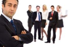 Team leader Stock Photo
