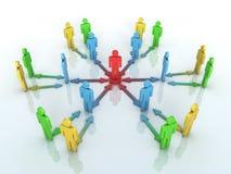 Team Leader begrepp vektor illustrationer