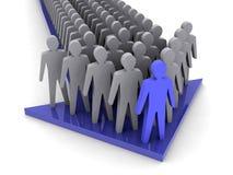 Team leader. Company boss. Teamwork. Royalty Free Stock Photography