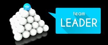 Team leader, conception of leadership Stock Photos