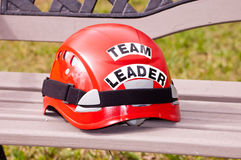 Team Leader Helmet Royalty Free Stock Images