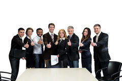 Team leaders. Royalty Free Stock Photos