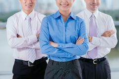 Team leading Royalty Free Stock Photography