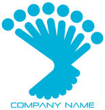 Team logo Royalty Free Stock Images