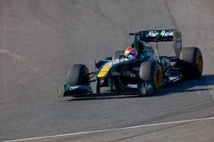 Team Lotus F1, Jarno Trulli, 2011 stockbild