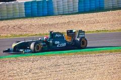Team Lotus F1, Jarno Trulli, 2011 stockfotografie
