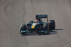 Team Lotus F1, Jarno Trulli, 2011 Stock Photography