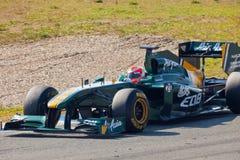 Team Lotus F1, Jarno Trulli, 2011 Stock Images