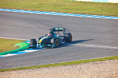 Team Lotus F1, Jarno Trulli, 2011 Royalty Free Stock Photos