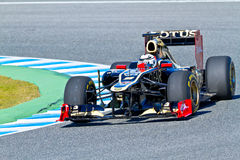 Team Lotus Renault F1, Kimi Raikkonen, 2012 Stock Photos