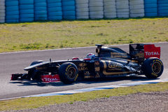 Team Lotus Renault F1, Vitaly Petrov, 2011 Stock Photos