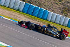 Team Lotus Renault F1, Vitaly Petrov, 2011 Stock Photography