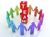 Team Management Foto de archivo