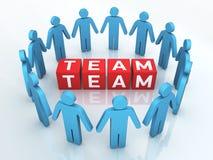 Team Management Arkivfoton