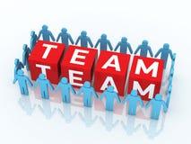 Team Management Arkivfoto