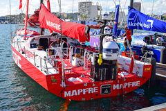 Team Mapfre The Volvo Ocean Race 2017 Royalty Free Stock Photos