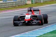 Team Marussia F1, Jules Bianchi, 2014 Arkivfoton
