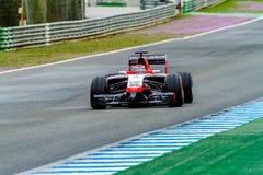 Team Marussia F1, Jules Bianchi, 2014 Fotografering för Bildbyråer
