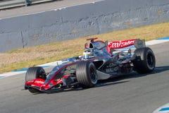 Team McLaren F1, Pedro de la Rosa, 2006 Royalty Free Stock Images