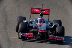 Team McLaren F1, Jenson Button, 2011 Stock Image