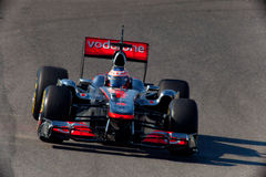 Team McLaren F1, Jenson Button, 2011 Royalty Free Stock Photography