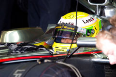 Team McLaren F1, Lewis Hamilton, 2006 Imagem de Stock