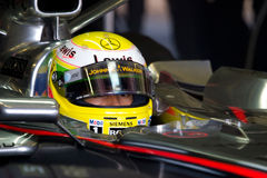 Team McLaren F1, Lewis Hamilton, 2006 Stock Photography