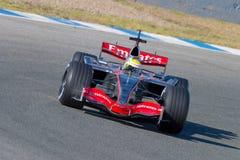 Team McLaren F1, Lewis Hamilton, 2006 Stock Images