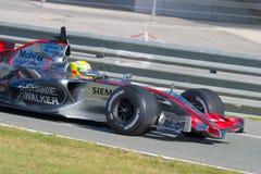 Team McLaren F1, Lewis Hamilton, 2006 Royalty Free Stock Photography