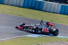 Team McLaren F1, Lewis Hamilton, 2011 Royalty Free Stock Image