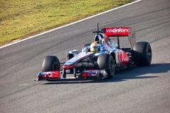 Team McLaren F1, Lewis Hamilton, 2011 Stock Image