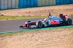 Team McLaren F1, Lewis Hamilton, 2011 Stock Photography