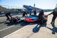 Team McLaren F1, Lewis Hamilton, 2012 Stock Images