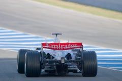 Team McLaren F1, Pedro de la Rosa, 2006 Fotografia de Stock