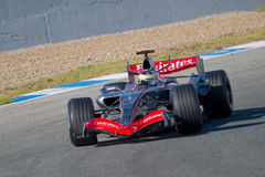 Team McLaren F1, Pedro de la Rosa, 2006 Stock Photo