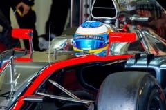 Team McLaren Honda F1, Fernando Alonso, 2015 stockbild