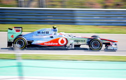 Team McLaren Mercedes Royalty Free Stock Photos