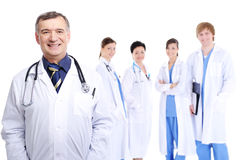 Team of medical doctors Royalty Free Stock Images