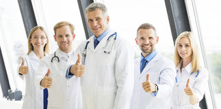 Team of medical doctors Stock Images